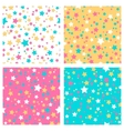 Collection of 4 seamless textures vector image
