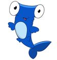 cute cartoon hammerhead vector image