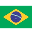 flag brazil in correct proportions and colors vector image vector image