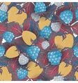 seamless pattern realistic image delicious ripe vector image