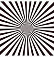 sunburst background black background with radial vector image vector image