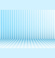3d studio room abstract vertical lines striped vector image
