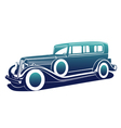 Classic automobile vector image vector image