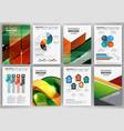 creative brochure template vector image vector image
