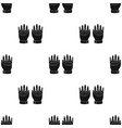 fingerless gloves icon in black style isolated on vector image vector image