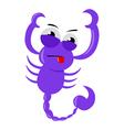 Scorpio Zodiac vector image