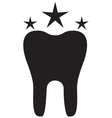 Teeth Icon Star vector image vector image