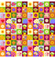 Flower shop pattern vector image