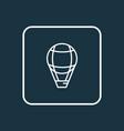 air balloon icon line symbol premium quality vector image vector image