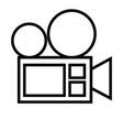 cinema icon vector image vector image