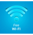 Free Wi-Fi sign vector image