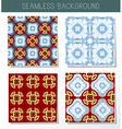 kaleidoscope background set vector image