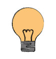 light bulb electric incandescent vector image vector image