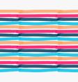 marker drawn horizontal stripes vector image