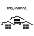 neighborhood vector image vector image