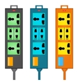 Outlet power vector image