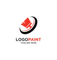 painting logo vector image