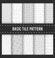 seamless pattern background brick floor cobbleston vector image vector image