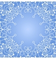 Background with lace ornament vector image