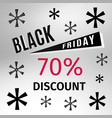 black friday holiday banner vector image vector image