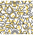 geometric minimal seamless abstract pattern vector image