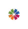 laboratory lab logo and symbol vector image