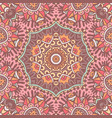 mandala ethnic boho tribal pattern vector image vector image