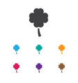 of game symbol on clover icon vector image