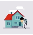 Theft Insurance vector image