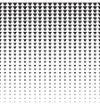 Triangles Halftone Pattern vector image vector image