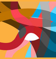 abstract geometric multicolored background vector image vector image