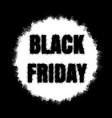 black friday sale banner eps 10 vector image