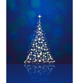 christmas background blue 2311 01 vector image vector image