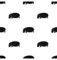 hippopotamus an omnivorous artiodactyl animal vector image vector image