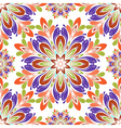 round seamless pattern vector image vector image