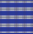 royal blue tartan stripes seamless pattern vector image vector image