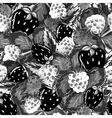seamless pattern with summer berries vector image vector image