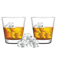 Whiskey Glass2 vector image