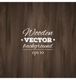 Wooden background Wood texture vector image vector image