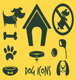animal icons2 vector image