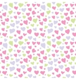 Abstract Hearts Seamless Pattern Texture vector image