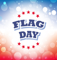 flag day america banner 1 vector image vector image