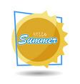 hello summer 6 vector image vector image