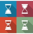 Icons sandglass vector image vector image