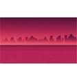 Landscape city for backrgounds game vector image vector image