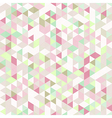 Light Seamless Pattern of Triangles vector image vector image