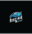 logo car e sport and sport style vector image