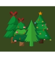 merry christmas related icons image vector image vector image