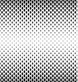 Monochrome curved shape pattern design background vector image vector image