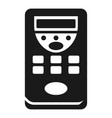 wide remote control icon simple style vector image vector image